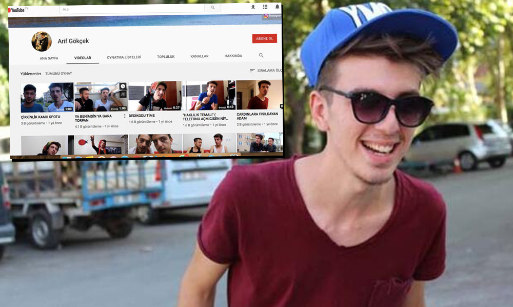YouTuber Arif Gökçe, arkadaşını öldürdü! Sebebine ilişkin çarpıcı iddia…