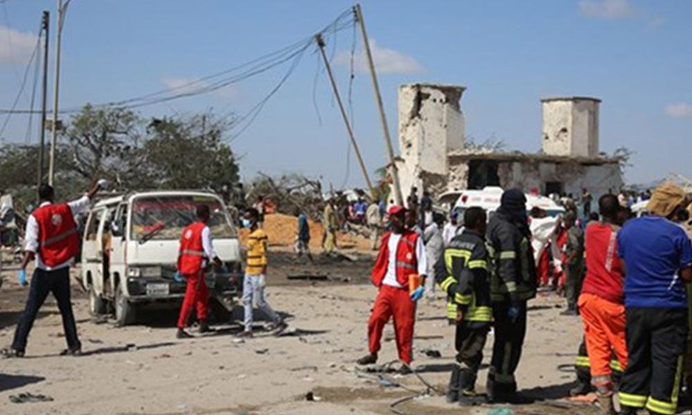 Somali'deki saldırıda ölen 2 Türk vatandaşı Ankara'ya getirildi
