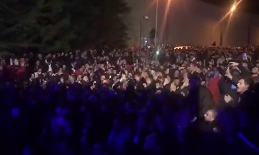 Trabzonspor taraftarından Karaman'a destek! Tesislere akın ettiler