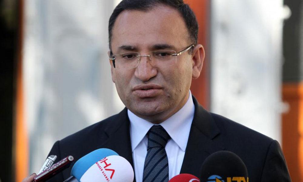 TBMM Anayasa Komisyonu Başkanı Bekir Bozdağ'dan flaş fezleke açıklaması