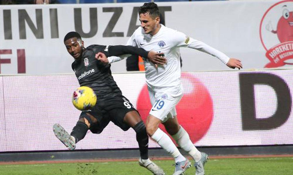 Umut Nayir 90+5'te Beşiktaş'a hayat verdi…