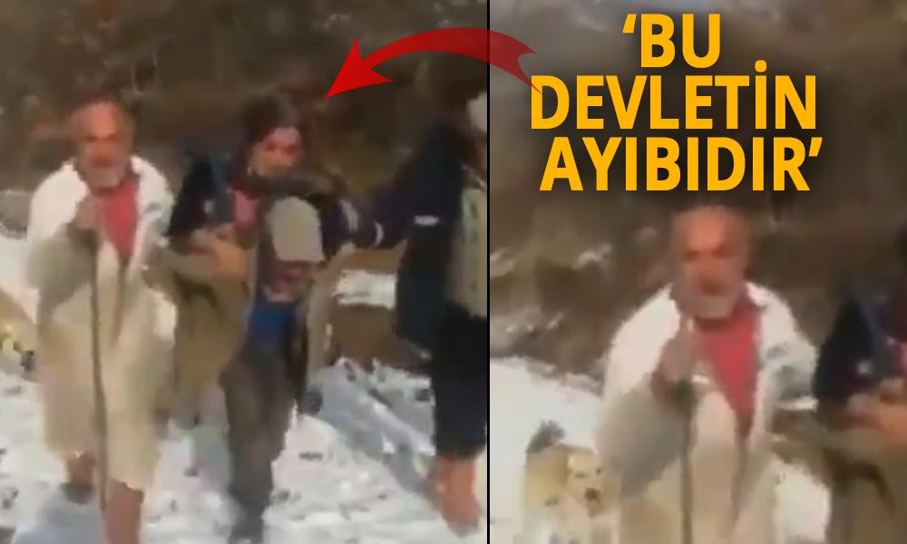 Yıl 2020! Yaşlı adam AKP'li belediyeye isyan etti