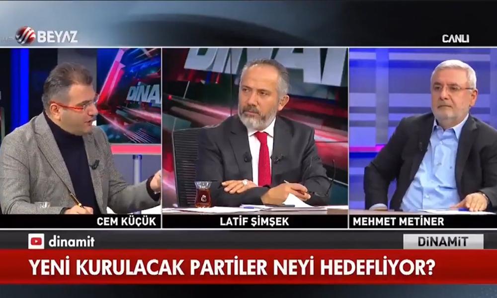 Cem Küçük 'Erdoğan giderse yargılanırız' dedi! AKP'li Metiner: İngilizce bilmiyorum gidecek yerim de yok