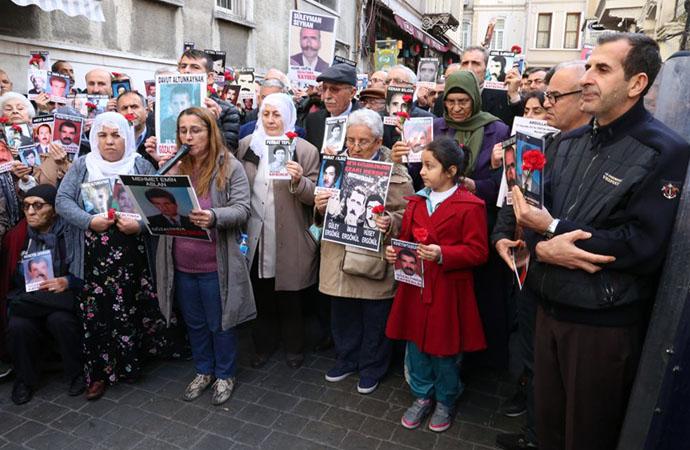 Cumartesi Anneleri 769'uncu haftada Dargeçit JİTEM davasında kaybedilenlerin akıbetini sordu