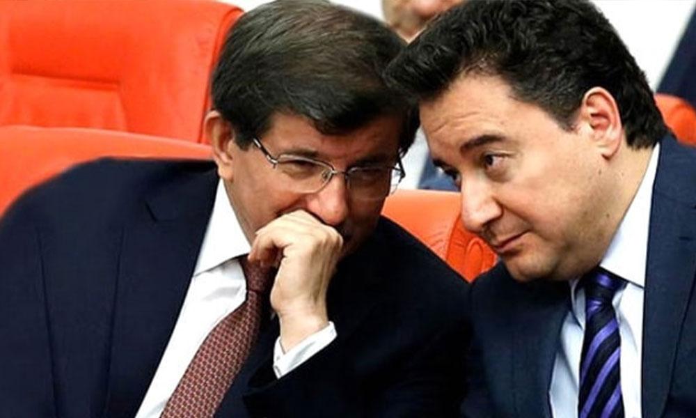 Davutoğlu ve Babacan için flaş 'Cumhur İttifakı' iddiası