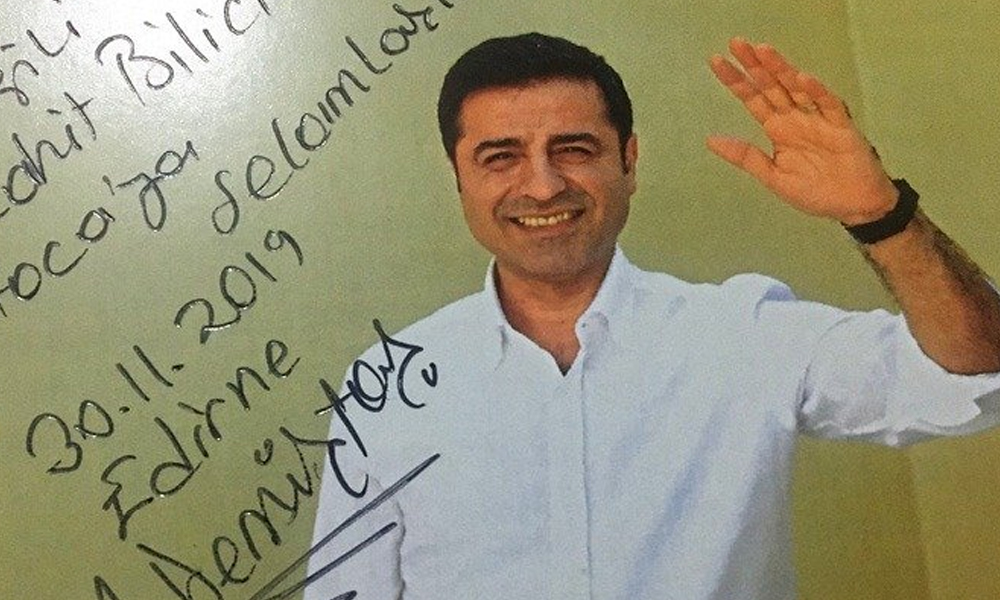 Demirtaş'tan Mücahit Bilici'ye mektup
