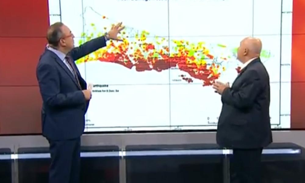 Canlı yayında 'İstanbul'da iki deprem bekliyorum' diyerek tarih verdi!