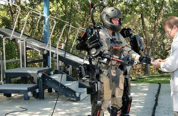 Filminden hatırlayacağımız dış iskelet teknolojisi birçok sektörde kullanılabilir