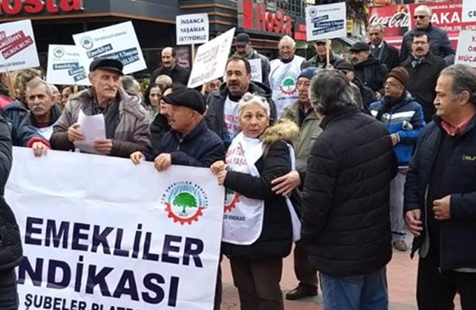 Emekli-Sen sokağa çıktı: Bütçede 13 milyon emekli yok!