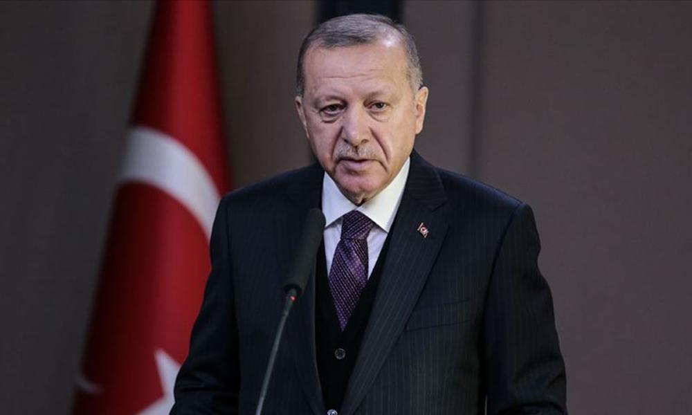 Erdoğan'dan düzeltme: Aziz Sancar hocamıza, Orhan Pamuk'a verilmiş bir ödül değildir