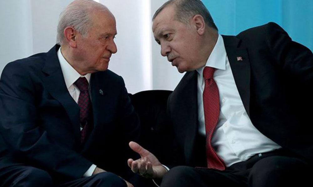 Erdoğan'a anket şoku! MHP seçmeni 'Cumhur İttifakı'nı terk ediyor…
