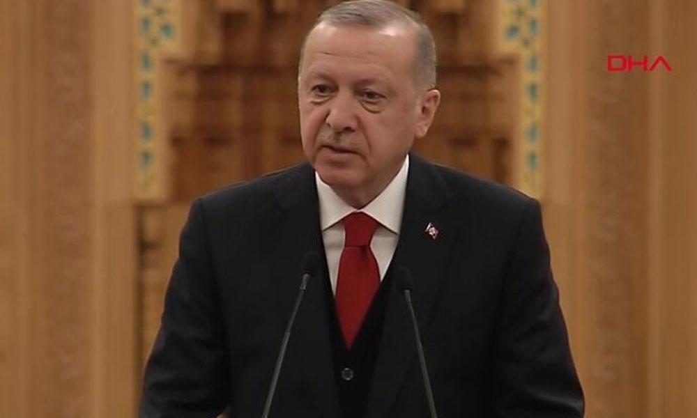 Erdoğan: Müslümandan, İslam'dan terörist olmaz