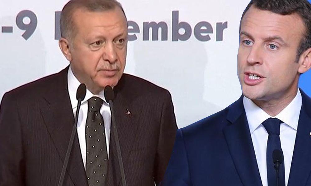 Erdoğan'dan Macron'a: Fransa'da sarı yelekliler eylemleri çıktı, hadi çöz bakalım