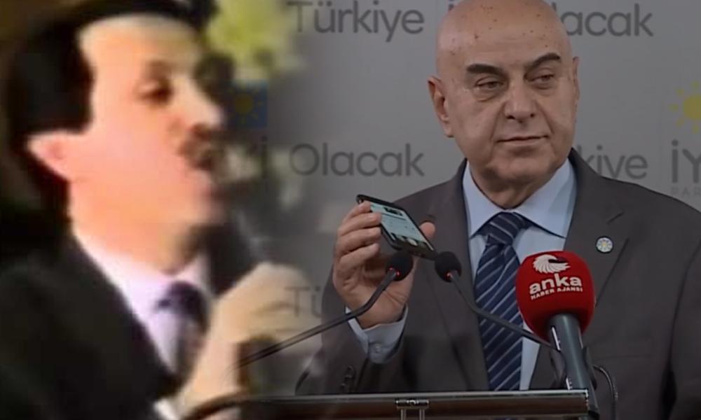 Erdoğan'ın geçmişteki ses kaydı toplantıya damga vurdu!