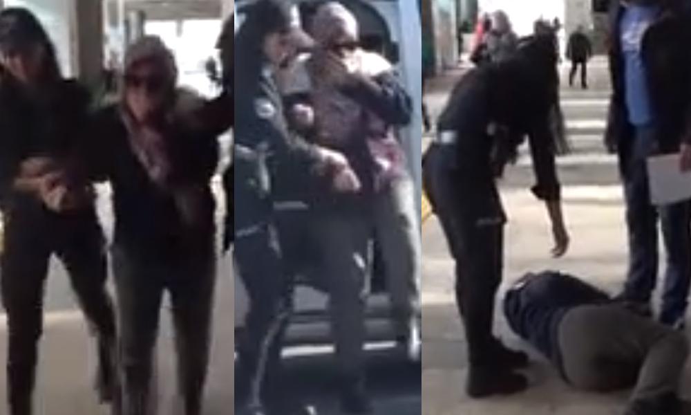 Uçakta 'ben FETÖ'cüyüm, uçağı patlatacağım' diyen kadın adliyeye giderken kendini yere attı: Ankara'yı ayağa kaldıracağım
