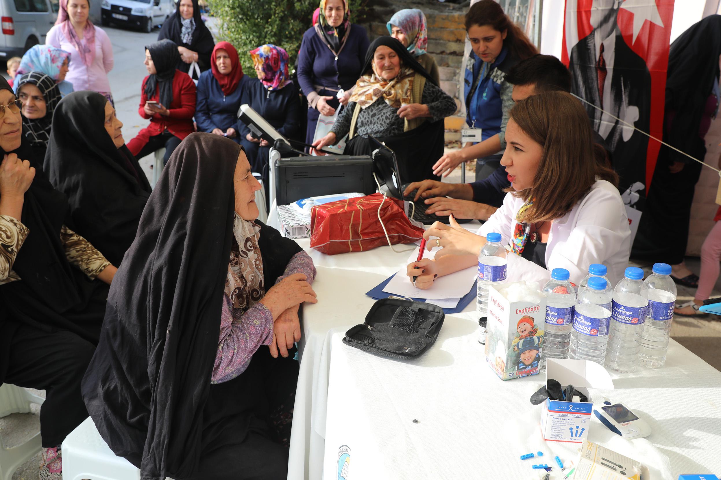 Mudanya'da iki ayda bin kişiye diyetisyen hizmeti
