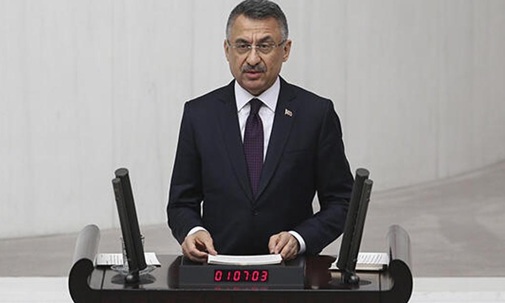 Fuat Oktay: Türkiye'nin çıkarları doğrultusunda hesap vermez, hesap sorarız