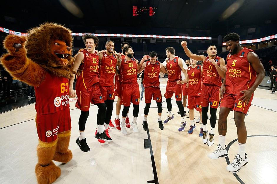 Galatasaray Doğa Sigorta, Eurocup'ta son 16 turuna yükseldi