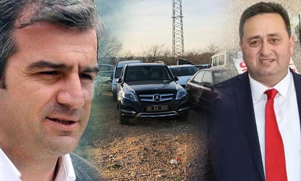 İlçe şokta: MHP'li başkanın makam aracı bağlandı