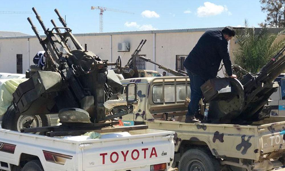 Türkiye-Libya anlaşması sonrası, Hafter'e ait güçler Trablus sınırında