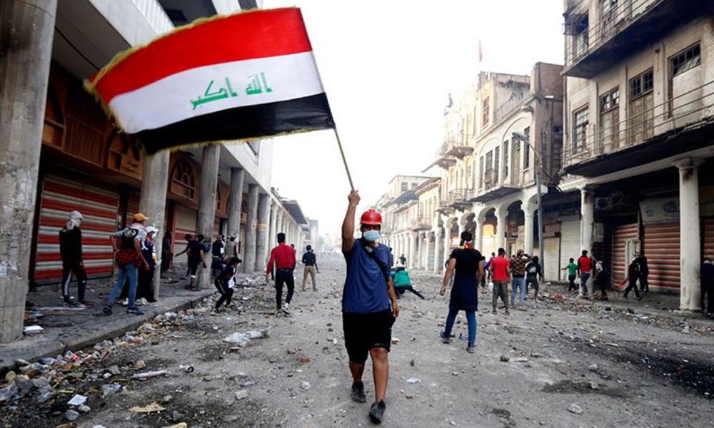 Haşdi Şabi taraftarları ABD'nin Bağdat Büyükelçiliğini işgal etti