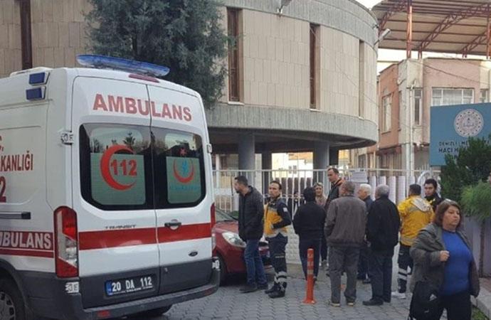 Kekten zehirlenen öğrenciler hastaneye kaldırıldı