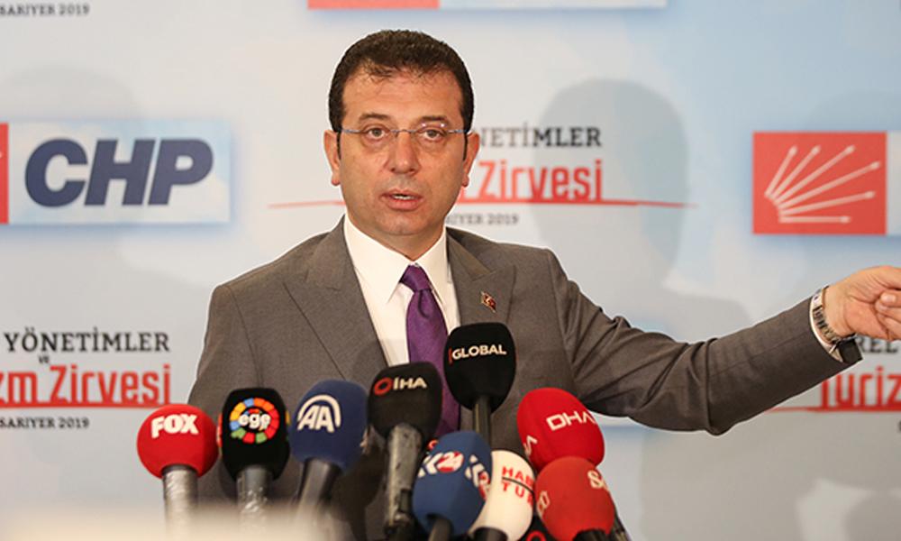 Ekrem İmamoğlu: Kanal İstanbul İşbirliği protokolünden çekiliyoruz