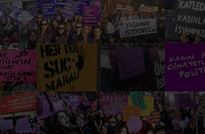 Emine, Ceren, Şule ve yüzlercesi… Kadınlar 2019'da hayatları ve hakları için sokaktaydı