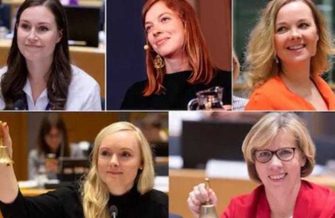 Finlandiya'da hükümet kadınlara emanet