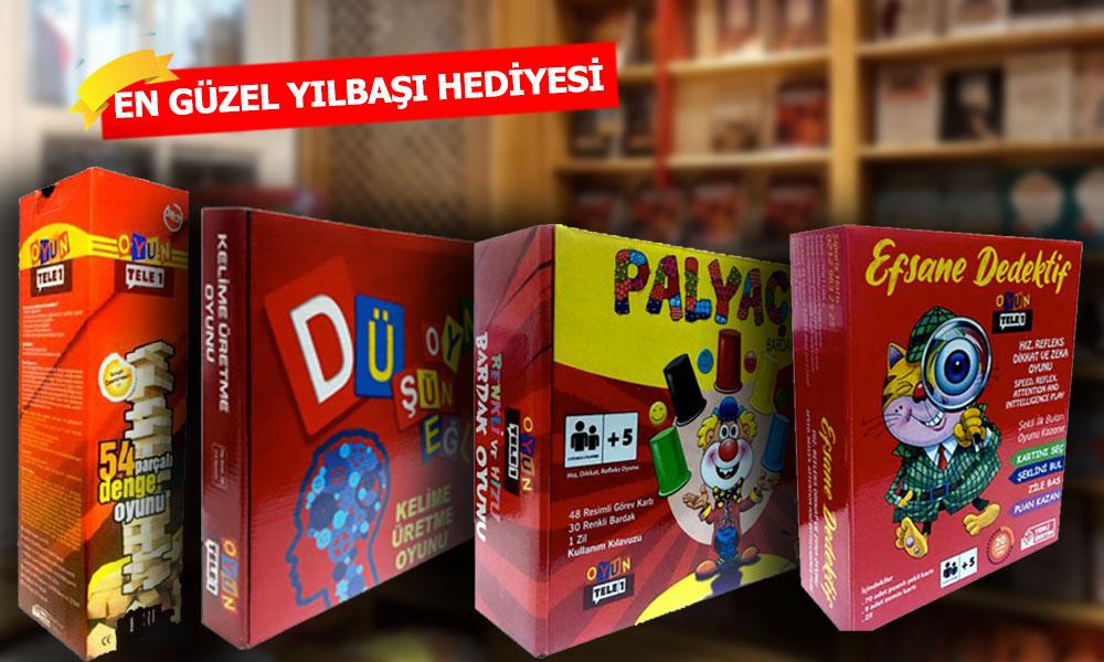 TELE1'den çocuklar için zeka geliştiren oyun setleri