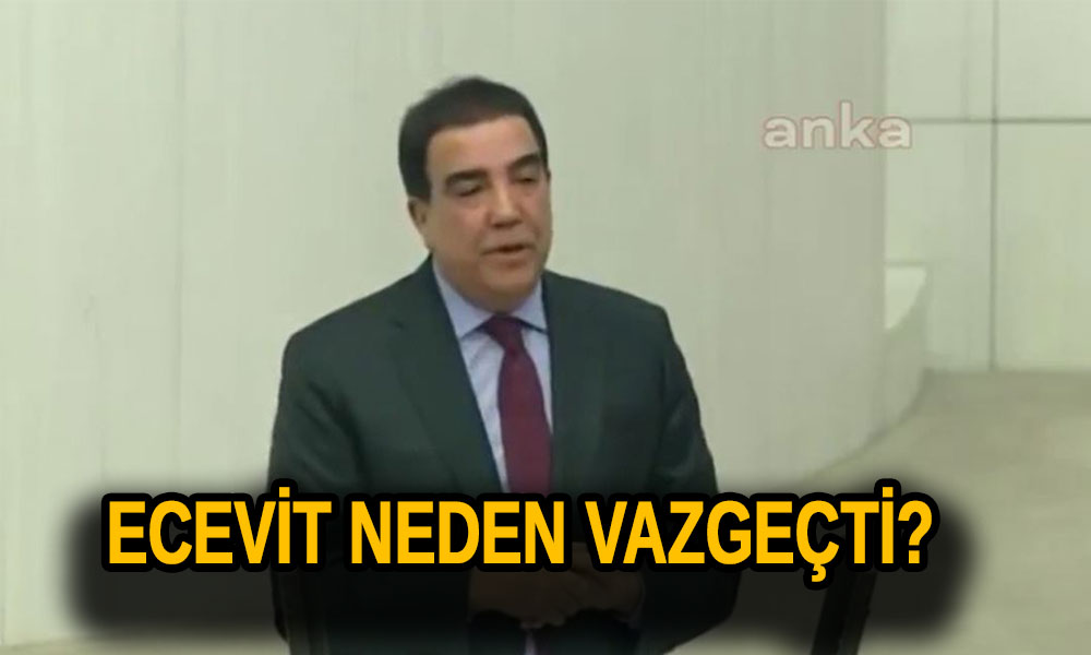 'Bülent Ecevit, Kanal İstanbul'u önerdi ama sonra projeden vazgeçti'