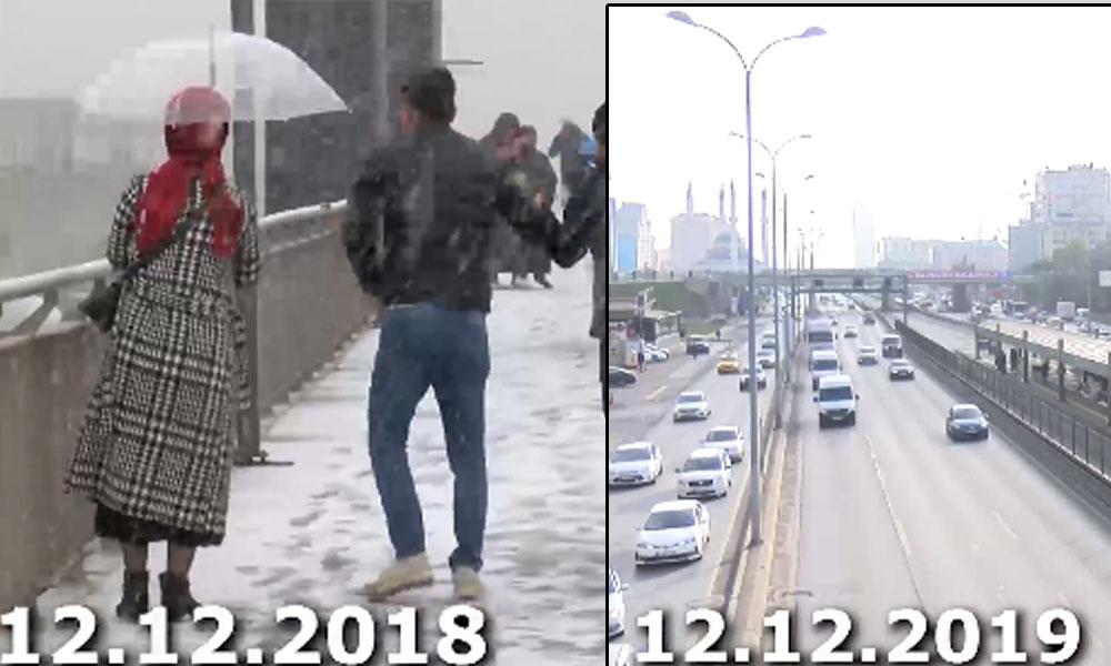İstanbul için kar yağışı açıklaması