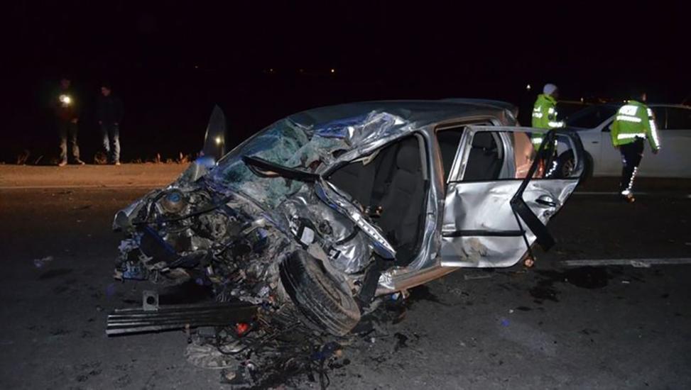Aksaray'da feci kaza! 3 ölü, 2 yaralı