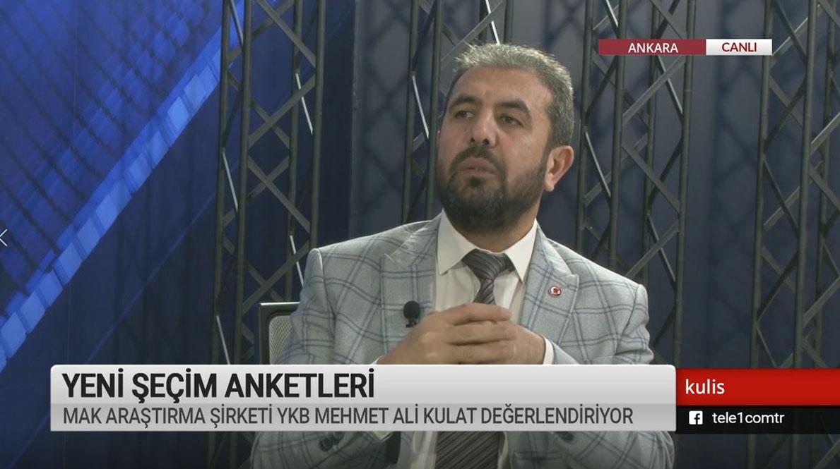 Kulis: AKP'nin oy oranlarında 25 puan düşüş var