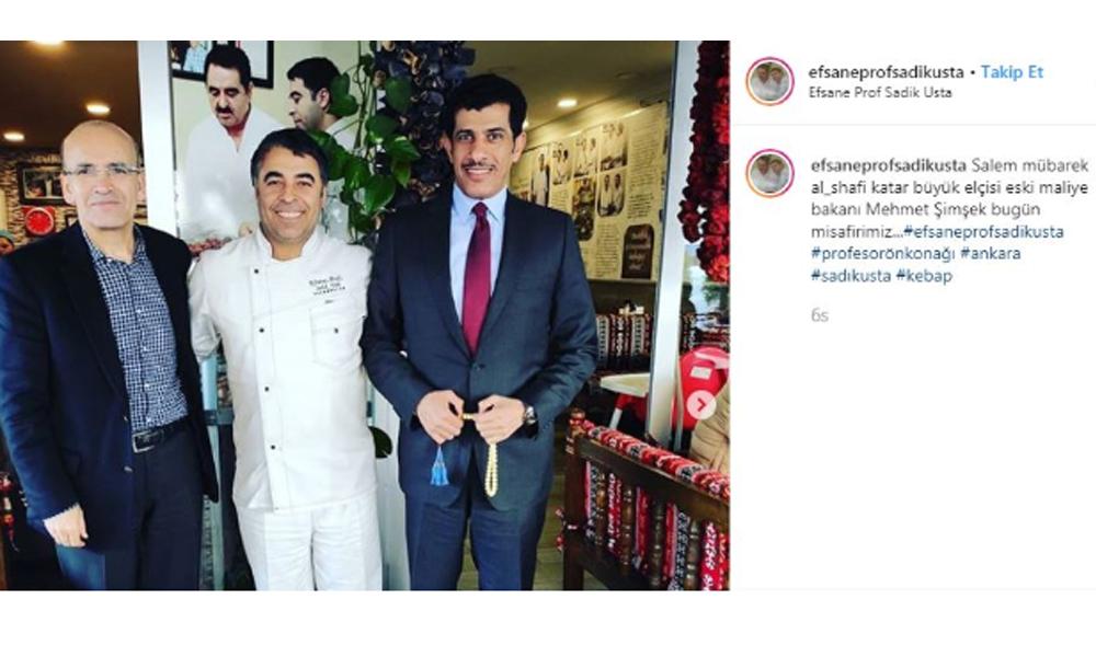 Ankara kulislerini hareketlendiren yemekli buluşma