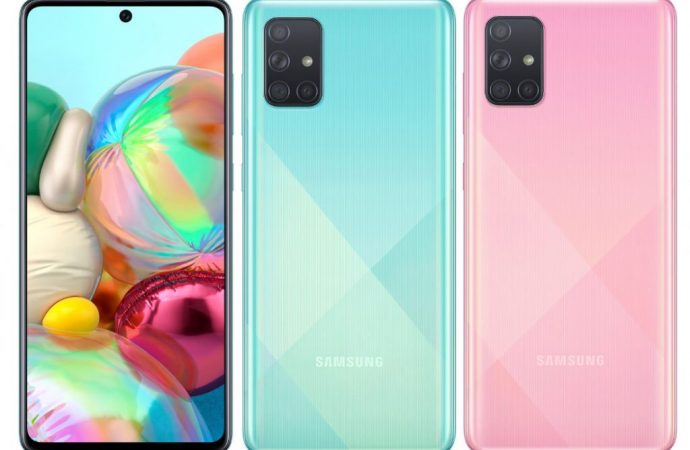 Samsung'un merakla beklenen dört kameralı telefonu Galaxy A71 tanıtıldı