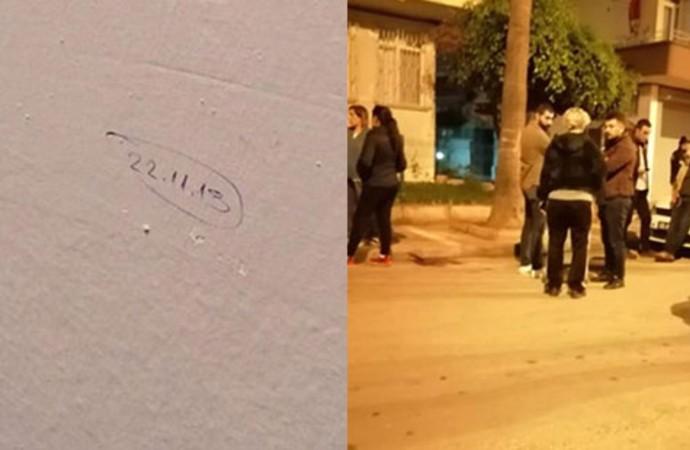 Mersinliler tedirgin: Bazı evlerin duvarlarına tarih yazıldı