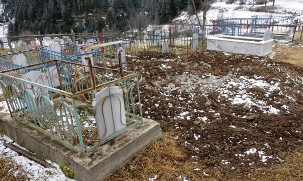 Trabzon'da mezar tartışması