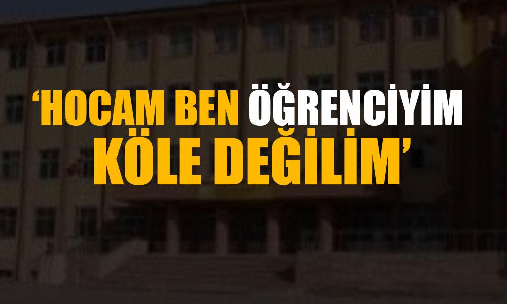 Lise müdürü hakaretler yağdırdı, kız öğrenciler gözyaşlarına boğuldu… MEB'den açıklama!