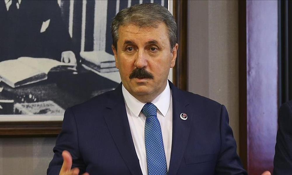 Mustafa Destici'den AKP'ye sert çıkış