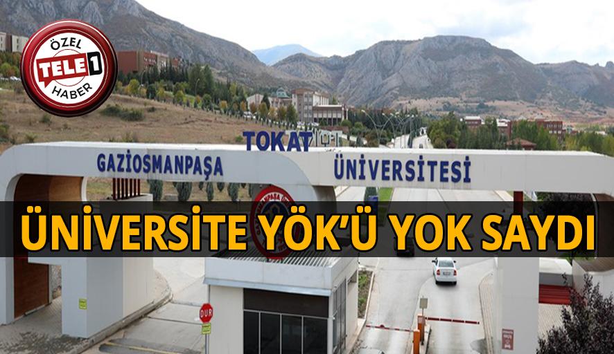 Üniversitede kişiye özel kadro!