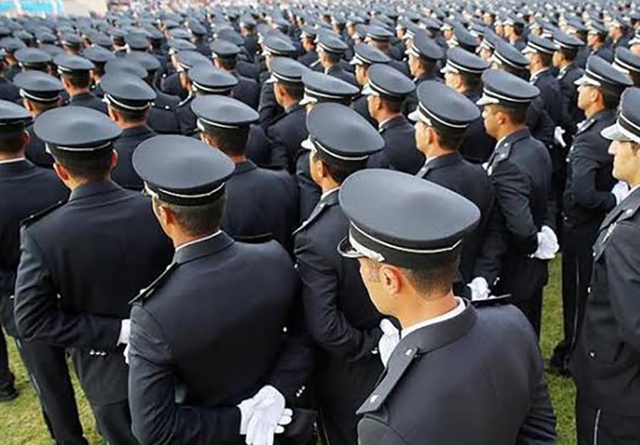 Polis Akademisi mezuniyet töreni cami külliyesinde