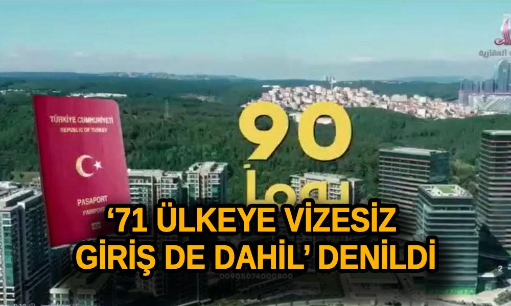 Skandal Reklam! Araplara ev satar gibi 'Türk Vatandaşlığı' satıyorlar