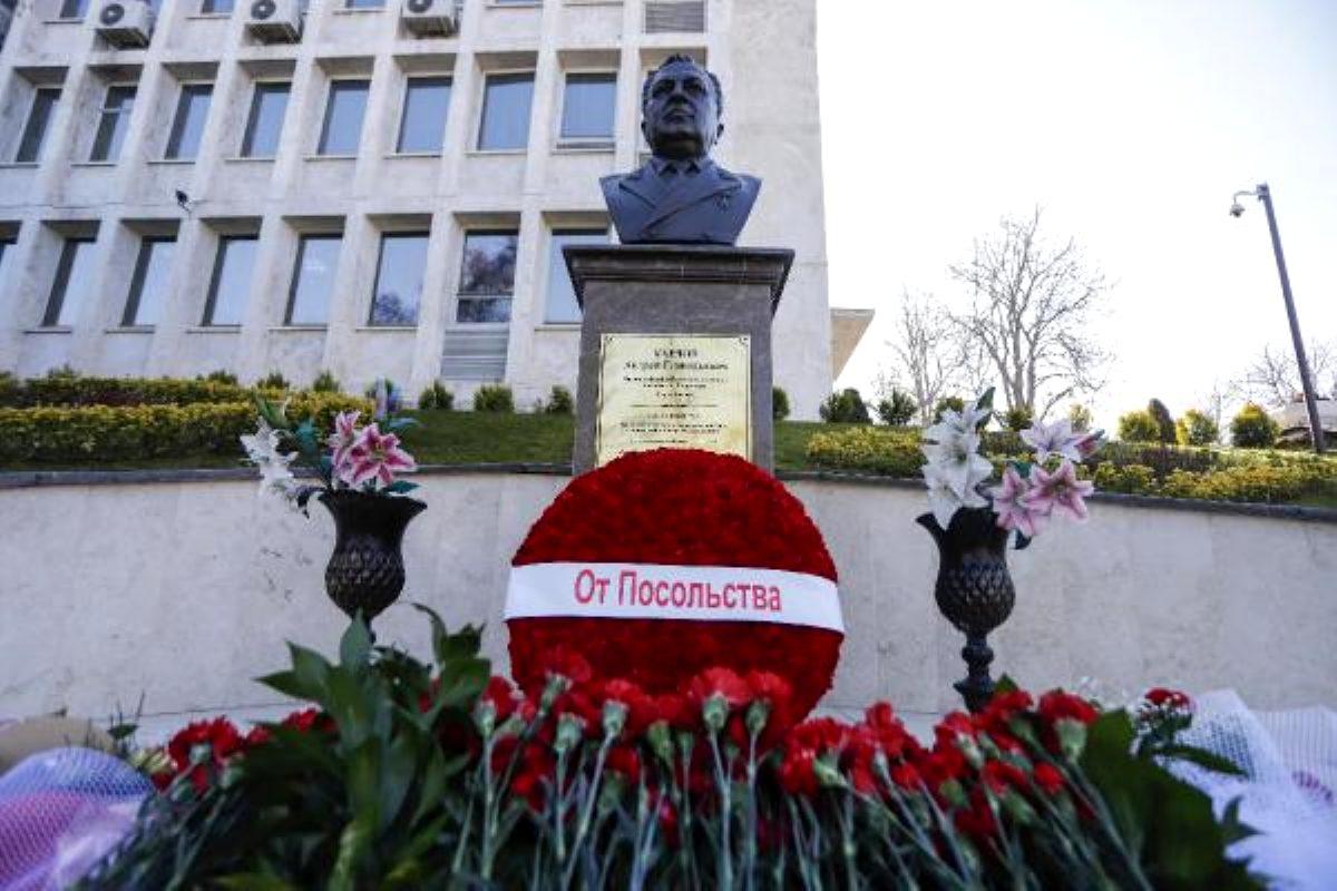 Rus büyükelçi Andrey Karlov, Ankara'da törenle anıldı