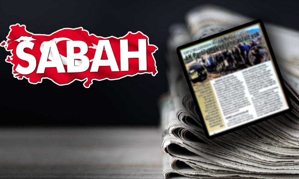 'Allah yandaşın da zekisini versin'! Sabah AKP'li belediyeyi CHPli gösterip 'Hizmet yok' başlığı attı