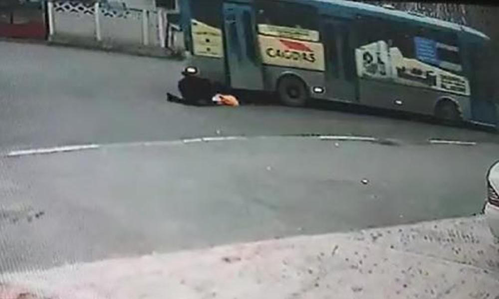 Halk otobüsünde korkunç kaza
