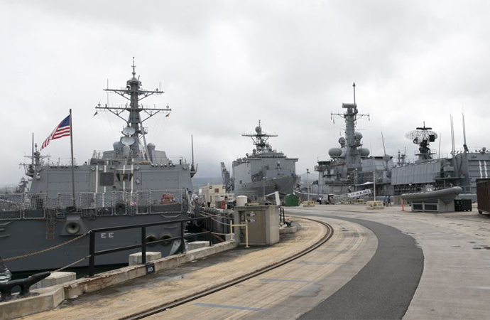 ABD'nin Pearl Harbor askeri üssünde silahlı saldırı: Ölü ve yaralılar var