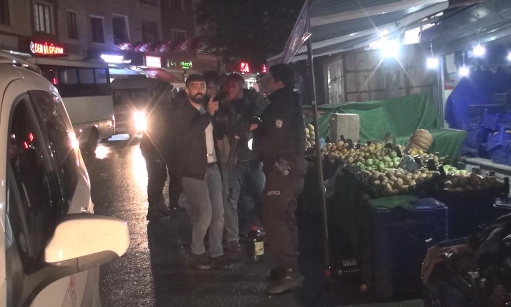 İstanbul'da hareketli dakikalar! Sokak savaş alanına döndü