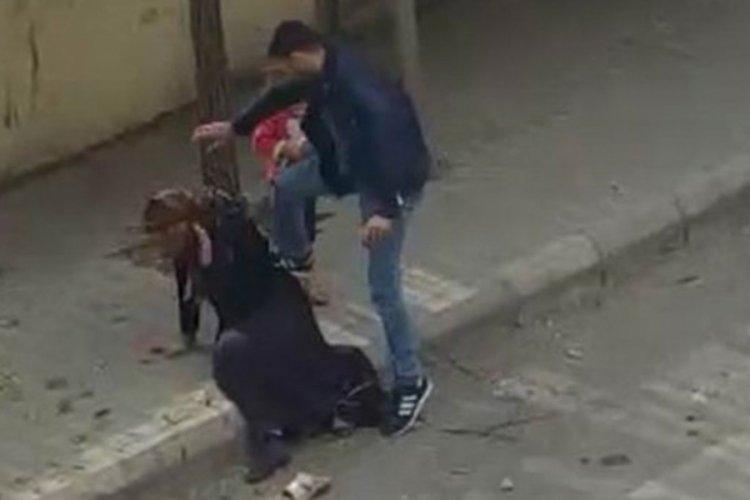 Eşini sokak ortasında döven zanlı için istenen ceza belli oldu