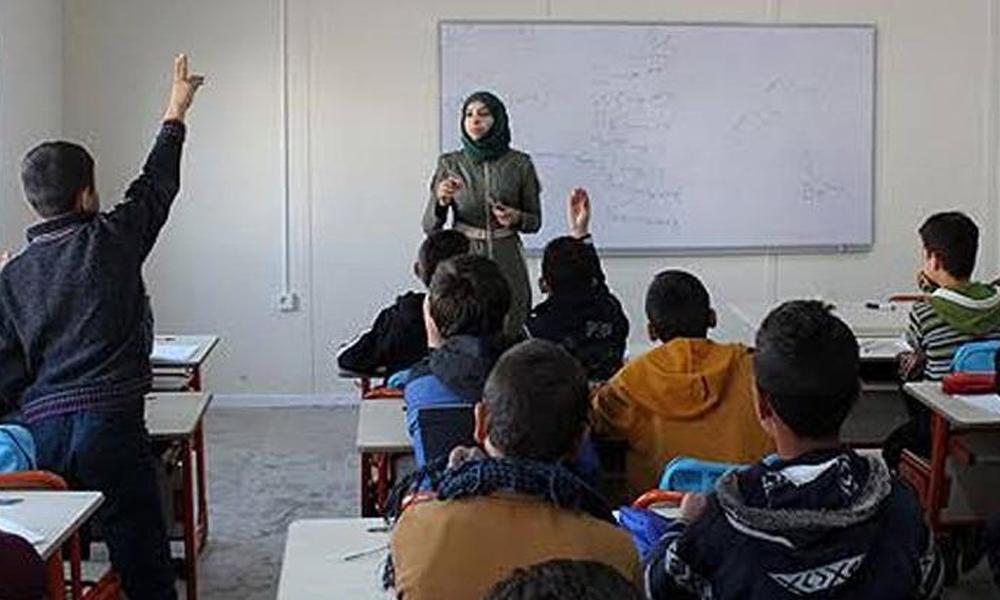 Suriyeli 830 öğretmen göreve başladı